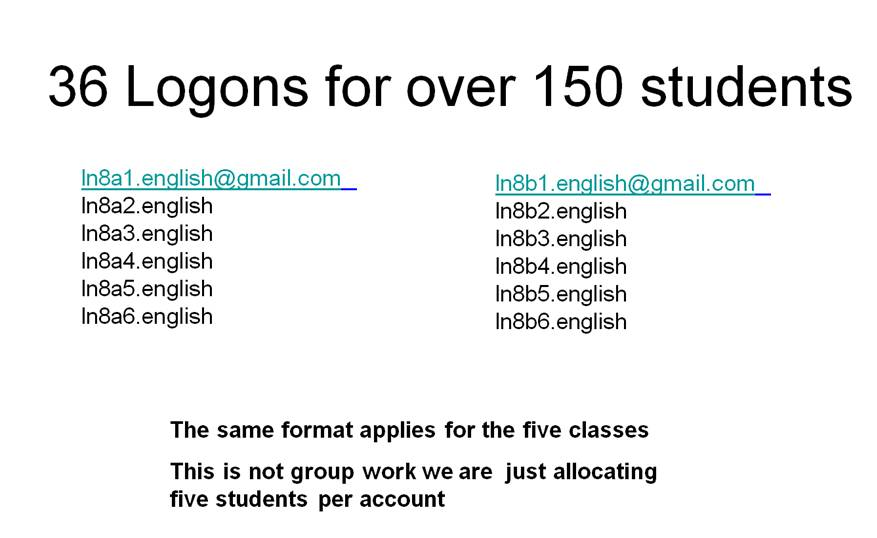 Cloud Computing – Google Sites and English Classes   It's all about